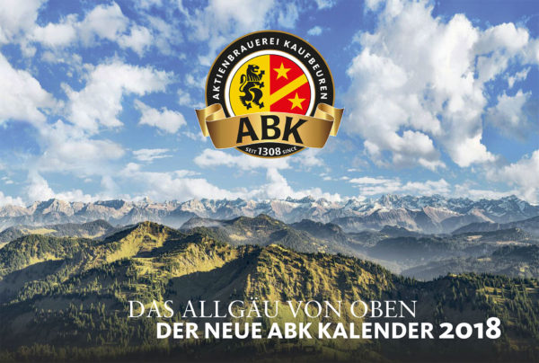 Luftaufnahmen für Aktien Brauerei Jahreskalender